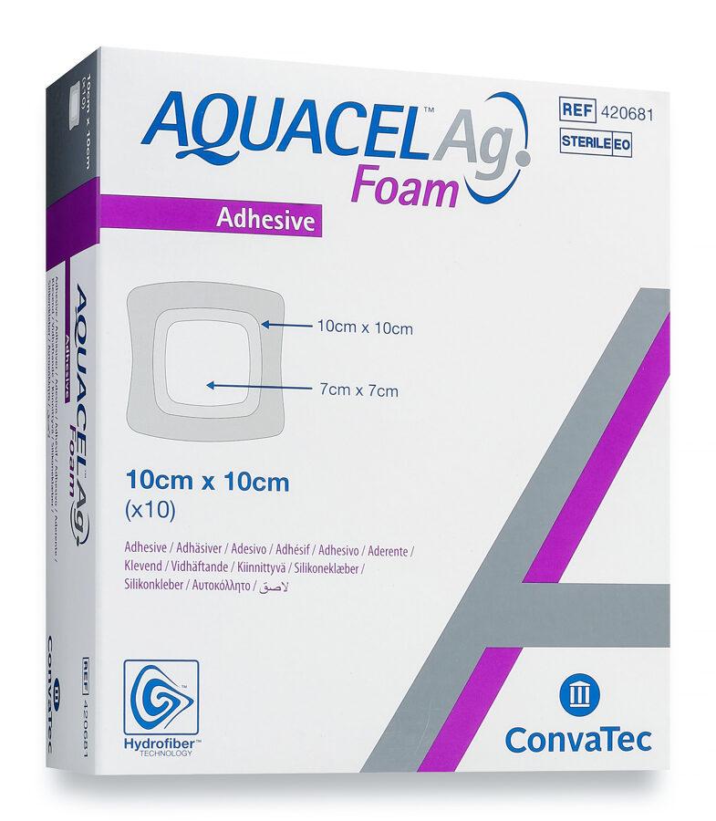 Aquacel Ag Foam 10x10cm N1