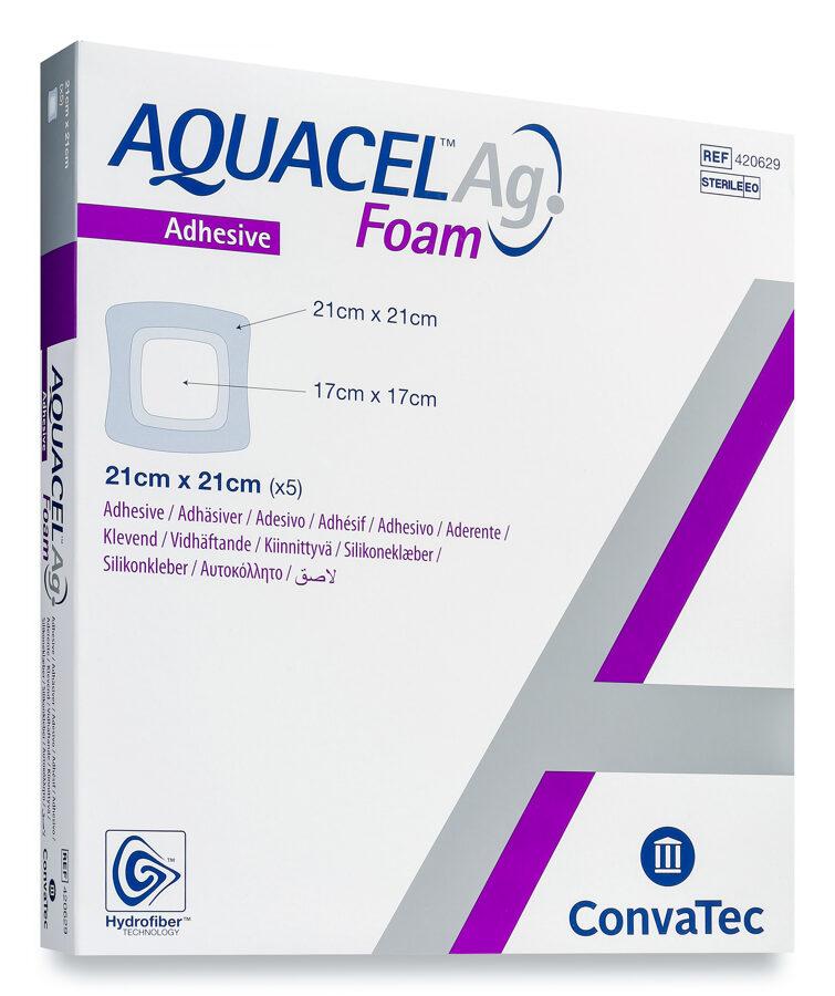 Aquacel Ag Foam 21x21cm N1