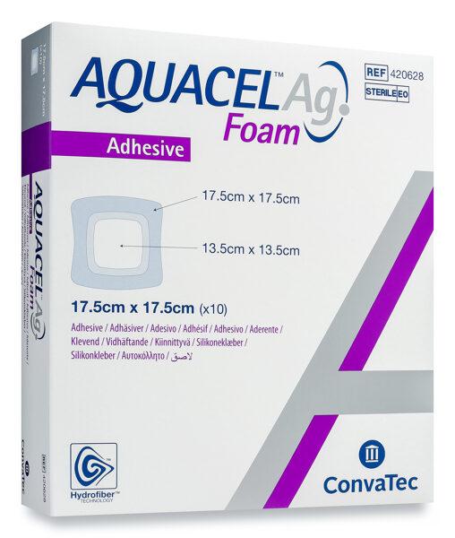 Aquacel Ag Foam 17,5x17,5cm N1
