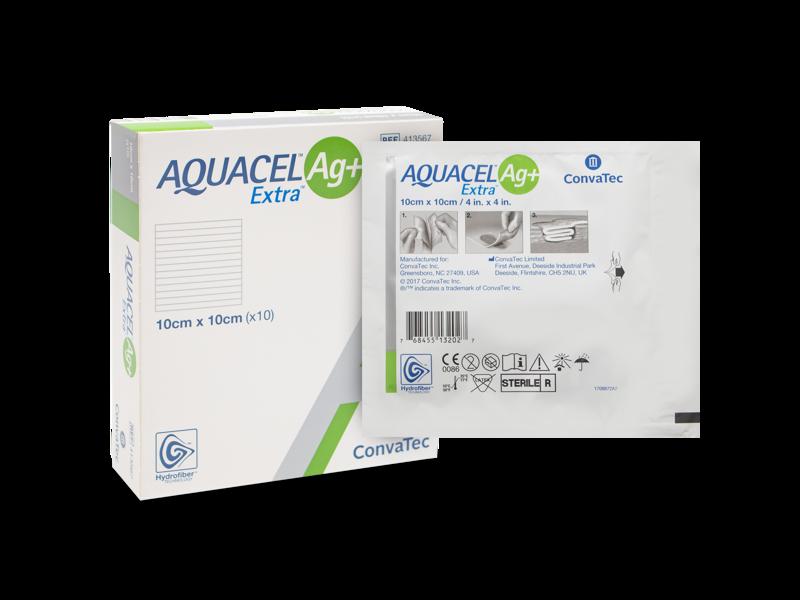 Aquacel Ag+ Extra 10x10cm N1