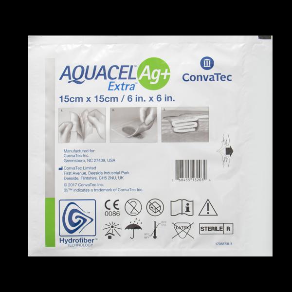 Aquacel Ag+ Extra 15x15cm N1